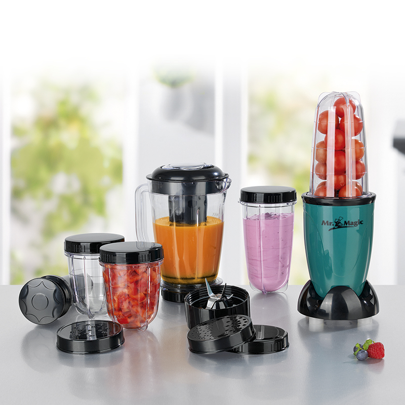 Gourmetmaxx Mr Magic 9in1 Allzweck Stand Smoothie Maker Mixer