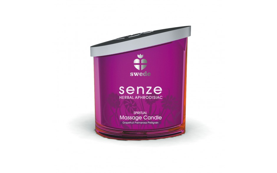 "Hit the Hay Box ""Schäferstündchen"" - SENZE Massage Candle Spiritual 150ml"