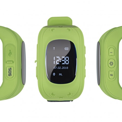 "EASYmaxx Armbanduhr Kids Smart Watch ""OLED"" - Limegreen"