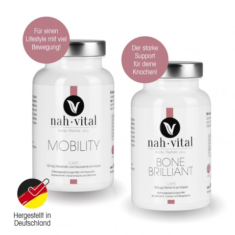 nah-vital MOBILITY Caps + BONE BRILLIANT Caps