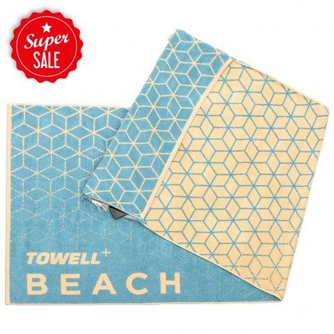 Towell Multifunktions-Handtuch Stryve Beach - Sea