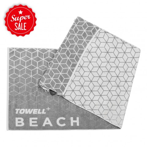 Towell Multifunktions-Handtuch Stryve Beach - Stone
