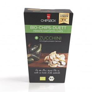 My Chipsbox Bio-Chips-Duett 6-tlg. (Curry, Rote Beete, Paprika, Tomate,Wirsing, Zucchini) je 90 g