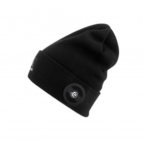 "earebel Lifestyle Slim Beanie ""Oak"" in Schwarz - Freisteller"