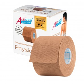 Aktimed TAPE CLASSIC | klassisches Physio-Tape für kinesiologisches Taping | beige