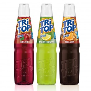 TRi TOP Sirup 3er-Set - Orange-Cola MixZitrone-Limette/Kirsche