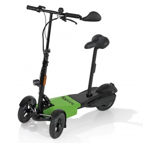 "SCUDDY ""light"" E-Scooter 37 V in Schwarz/Grün - Freisteller 1"