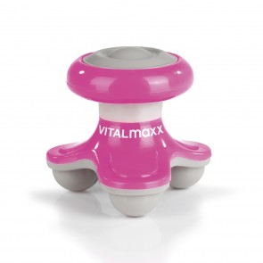 VITALmaxx Mini-Massagegerät to go 4,5V in Pink - Freisteller 1