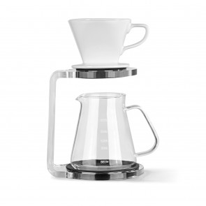 EEM POUR OVER Kaffeebereiter Set - 5 Tassen | CLASSIC SELECTION | 3-teilig