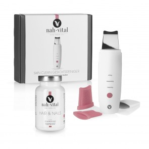 nah-vital SKIN CLEAN GESICHTSREINIGER + HAIR & NAILS Caps