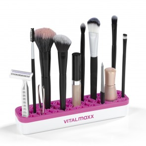 VITALmaxx Organzier Make-Up 2er-Set - Weiß/Pink