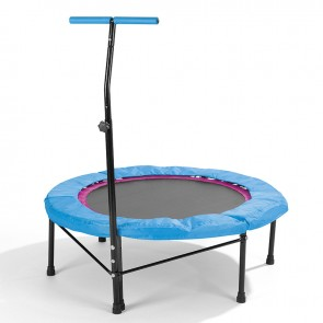POWER MAXX Fitness-Trampolin in Blau - Freisteller