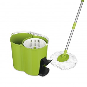 CLEANmaxx Power-Wischmopp in Limegreen - Freisteller