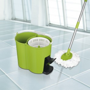 CLEANmaxx Power-Wischmopp, limegreen
