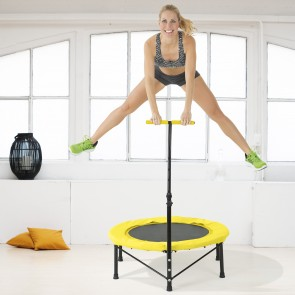 VITALmaxx Fitness-Trampolin in Gelb