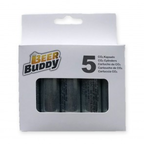 Beer Buddy Bierzapfanlage - CO2 Patronen 5er-Set