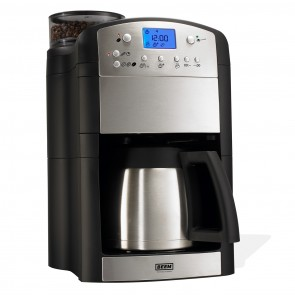 BEEM Kaffeeautomat Fresh-Aroma-Perfect Deluxe V2 1000W in Edelstahl/schwarz