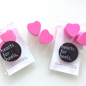 Padsta hearts for heels