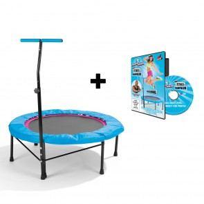 POWER MAXX Fitness-Trampolin + Training DVD Professional - Lieferumfang
