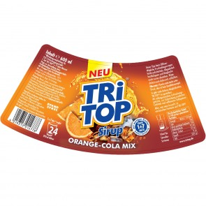 TRi TOP Sirup Orange-Cola Mix 6er-Set je 600 ml