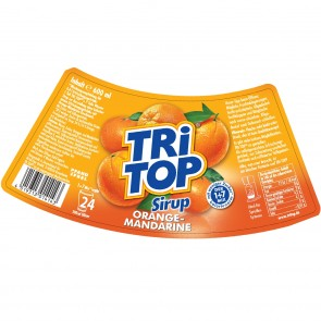 TRi TOP Sirup Orange-Mandarine 6er-Set je 600 ml