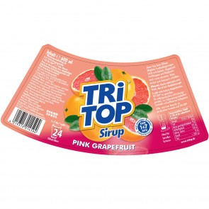 TRi TOP Sirup Pink Grapefruit 6er-Set je 600 ml
