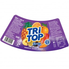 TRi TOP Sirup Tropical 6er-Set je 600 ml